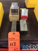 Lot of (4) sets of 4 inch magnetic parallel blocks (LOCATED IN TOOL ROOM MACHINE SHOP)