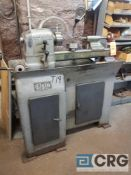 Elgin (Hardinge) lathe, 9 X 18 inch BC, sn 5/9-1840, with 3-jaw and 4-jaw chucks, tailstock and