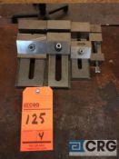 Lot of (4) precision vises, 1-3 inch widths (LOCATED IN TOOL ROOM MACHINE SHOP)