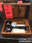 Ames mn. 1 hand held hardness tester with wood case (LOCATED IN TOOL ROOM MACHINE SHOP)