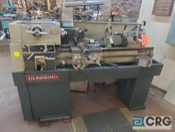 Clausing 1301 (1300 series) engine lathe , 16 X 40 BC, tailstock, center rest, compound slide table,