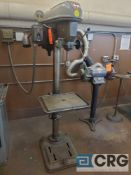 Rockwell Delta 17-600 17 inch floor type drill press, 3 phase (LOCATED IN TOOL ROOM MACHINE SHOP)