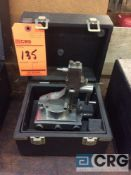 Harig high precision radius wheel dresser with case (LOCATED IN TOOL ROOM MACHINE SHOP)