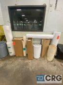 Lot of assorted filter paper rolls