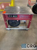 PAC PSM 1412-IC3 electric strapping table, portable on wheels, 1 ph