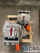 Lot of (2) GE PowerBreak insulated circuit breaker units, including (1) TPVVF5616, and (1)