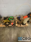 Lot of assorted pneumatic tools, equipment, hoses, tools, heads and attachments, including (1) Duo-