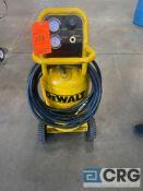 DeWALT portable vertical air compressor