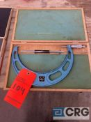 Fowler 8-9 inch outside micrometer, MN 3103