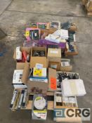 Lot of assorted electronics, fuses, control units, and circuit boards, including (1) Power Survey