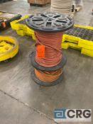 Lot of (2) rolls of welder's hose