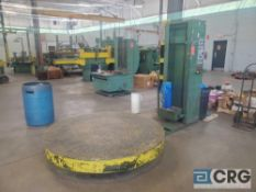 Clary pallet shrink wrapper, 6 ft rotary table, 3 phase