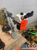 Bausch and Lomb stereoZoom 7 1x-7x microscope with spare parts