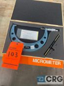 Mitutoyo 6-7 inch outside micrometer, MN 103-221, with case