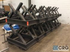 Lot of (12) suspended coil annealing stands