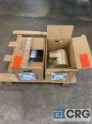 Lot of (2) motors (NEW) including (1) Baldor .75 HP 1730 RPM 3ph AC motor, and (1) Baldor .33 HP