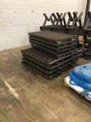 Flat coil annealing trays