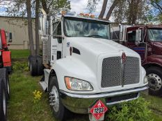 2015 Kenworth T370 cab & Chassis, Paccar PX-9 350 H.P. engine, Allison 3000 RDS automatic