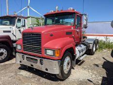 2010 Mack CHU613 tandem axle day cab, Mack MP8 485 H.P. engine, Fuller 8LL manual transmission,