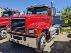 2015 Mack CHU613 tandem axle day cab, Mack MP8 505C H.P. engine, Fuller13sp manual transmission, 14k