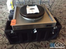 Evo Centric 20E electric commercial cook top with Cambro style storage case with wheels