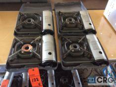 Lot of (4) asst portable butane stoves