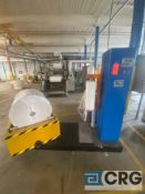 Kete semi-automatic roll wrapping machine, with Kewei panel controls, roll cradle 6 to 26 inch