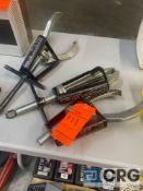 Lot of (3) Posi Lock heavy duty caged jaw pullers, including (1) MN 208, (1) MN 210, and (1) MN 108