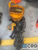 Harrington CB010 1-ton chain hoist