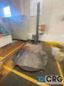 Orion L77-10 semi automatic stretch wrapping system, SN 6026016, with ramp (FOR PARTS)