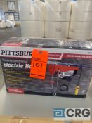 Pittsburgh remote controlled electric hoist, 1300 lbs double line capacity, MN 62853, cable length