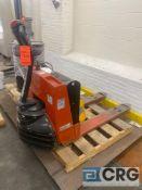 PRIME MOVER SMX45 electric walk-behind pallet jack 4500 lb. capacity, SN SMX4534072006 (NO