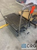 Pittsburgh hydraulic table cart, MN 60730, 500 lb. capacity, table height 9 - 27.25 in.