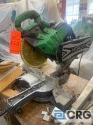 Hitachi 12 inch C12RSH sliding compound miter saw