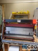 Central Machinery 30 in. shear, press brake, and slip roll, SN 356671713