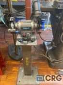 Delta double-end 6 in. bench grinder, variable speed, 2000 - 3400 RPM, comes with Baldor stand