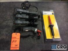 Lot of (5) asst Fluke probes including (1) 6000 volt high voltage probe mn 80-K6 (NEW IN