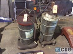 Lot of (2) asst portable lube units