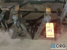 Lot of (2) Ausco 10 ton jack stands