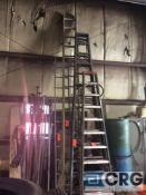 Werner 30 foot fiberglass extension ladder