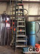 Ridgid 10 foot fiberglass step ladder