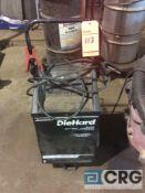 DieHard portable 6/12 volt battery charger, 275 amp max