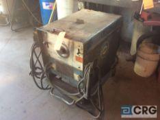 Miller Dialarc 250 AC/DC welder, 200/208/230/460 volts, 70/71 max ocv, 3 phase