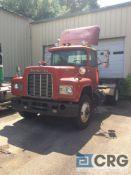 1985 Mack S/A truck tractor, VIN # 1M2N190Y7FA011251, model R688T, 00431 miles, 0943 hrs, Mack E6-
