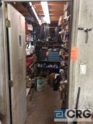 Lot of asst small truck parts, contents of parts room