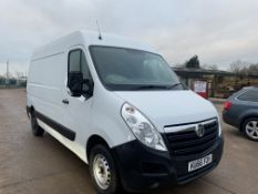 VAUXHALL MOVANO 2.3CDTI (130) 6 SPEED - EURO 6 - AIR CON - 2017 MODEL - ELEC PACK - LOW MILES