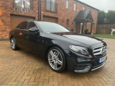 """ON SALE MERCEDES E220d AUTO""""AMG LINE"""" SALOON - 18 REG - LOW MILES - 1 KEEPER - LEATHER - GREAT SPEC"""