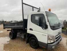ON SALE) MITSUBISHI CANTER 3C13 TIPPER TRUCK - 2006 - TWIN REAR WHELS - LOW MILES - LOOK - 3500KGS