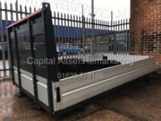 """(ON SALE) BRAND NEW TRUCK BODY (REMOVED FROM 3500KG TRUCK"""" ALLOY DROPSIDE (NO VAT TO PAY / SAVE 20%)"""