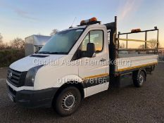 VOLKSWAGEN CRAFTER 2.0TDI CR35 DROPSIDE (16 REG) 1 OWNER - CRUISE - ELEC PACK - SIDE FITTED TOOLBOX